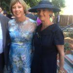 Elizabeth Griego - Glissando Dress - Crushed Floral Organza (Opal) - Siri - San Francisco