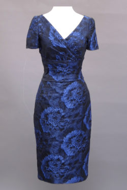 Navy Dress, special occasion dress, short sleeve dress, Prague Dress 5480, San Francisco