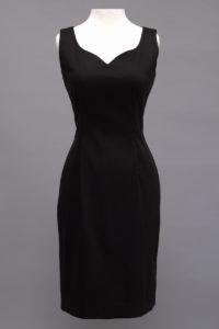 Siri Black Dress, Stretch Dress, San Francisco