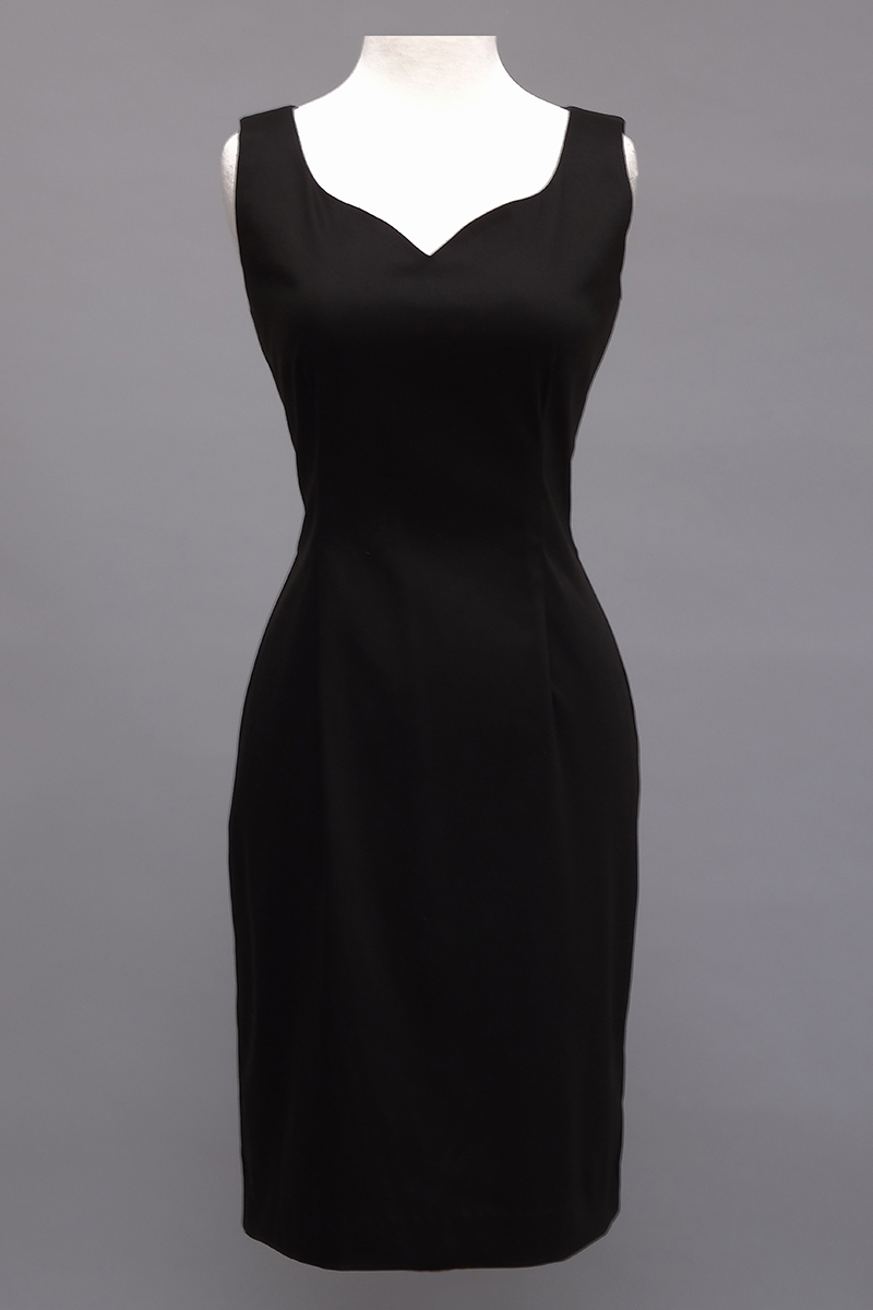 Siri Black Dress, Stretch Dress, San Francisco