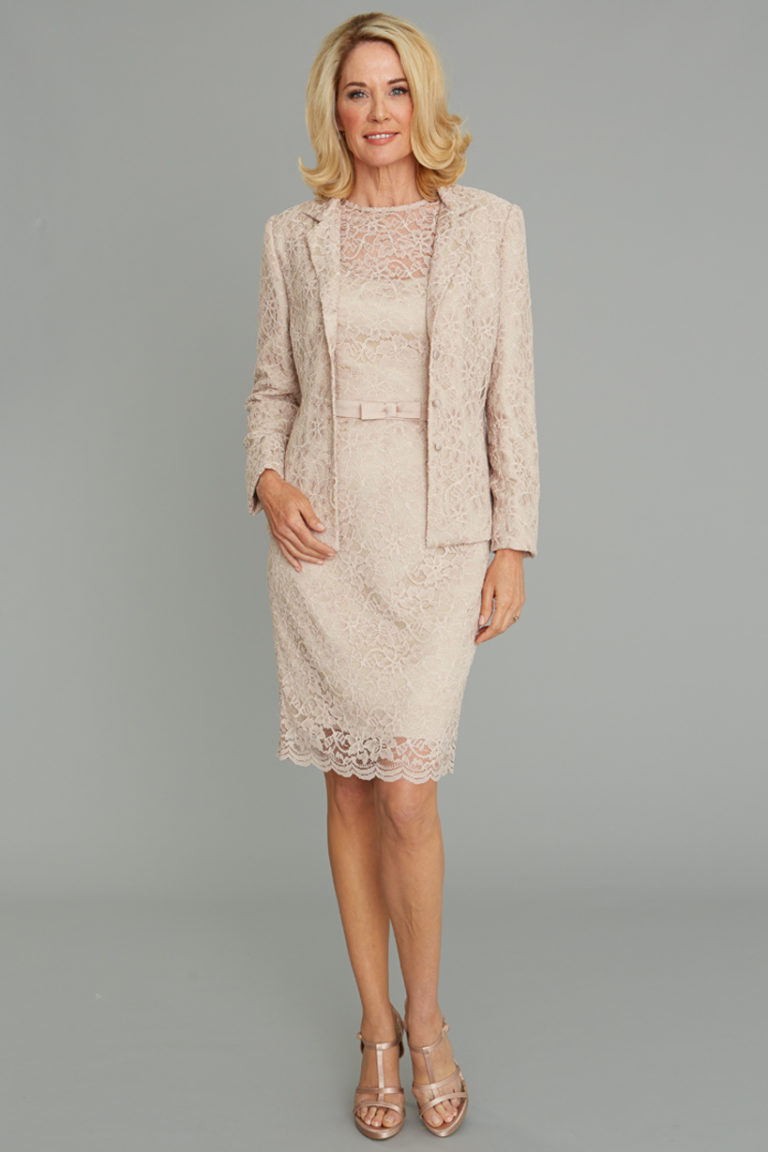 5900 Kate Jacket with Kate Dress, Lace Jacket, Siri Special Occasion, San Francisco