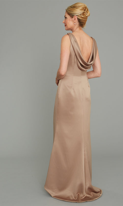 Satin Gown Siri Special Occasion, Paramount Gown 9194, San Francisco