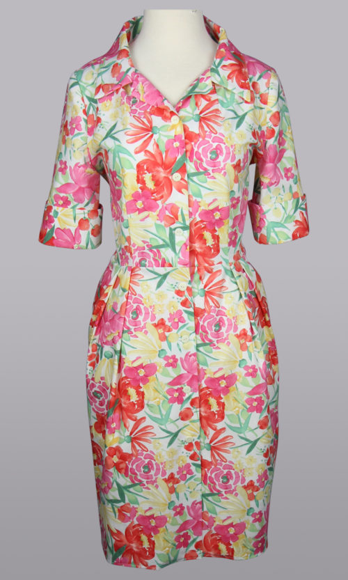 Siri Dresses - Floral Cotton Dress