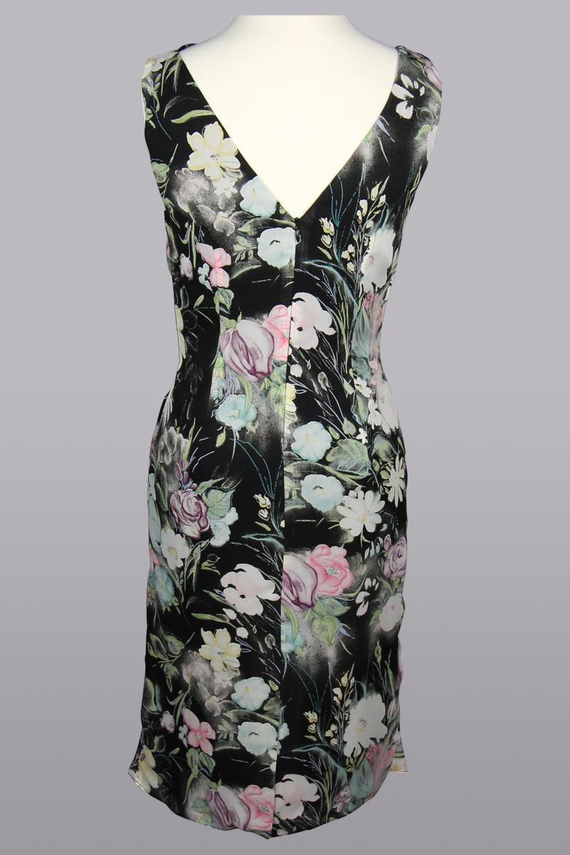 Floral Dress, Black Floral Dress,