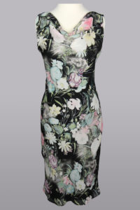 Siri Dress, 5467 Kitty Dress, Floral Sheath Dress