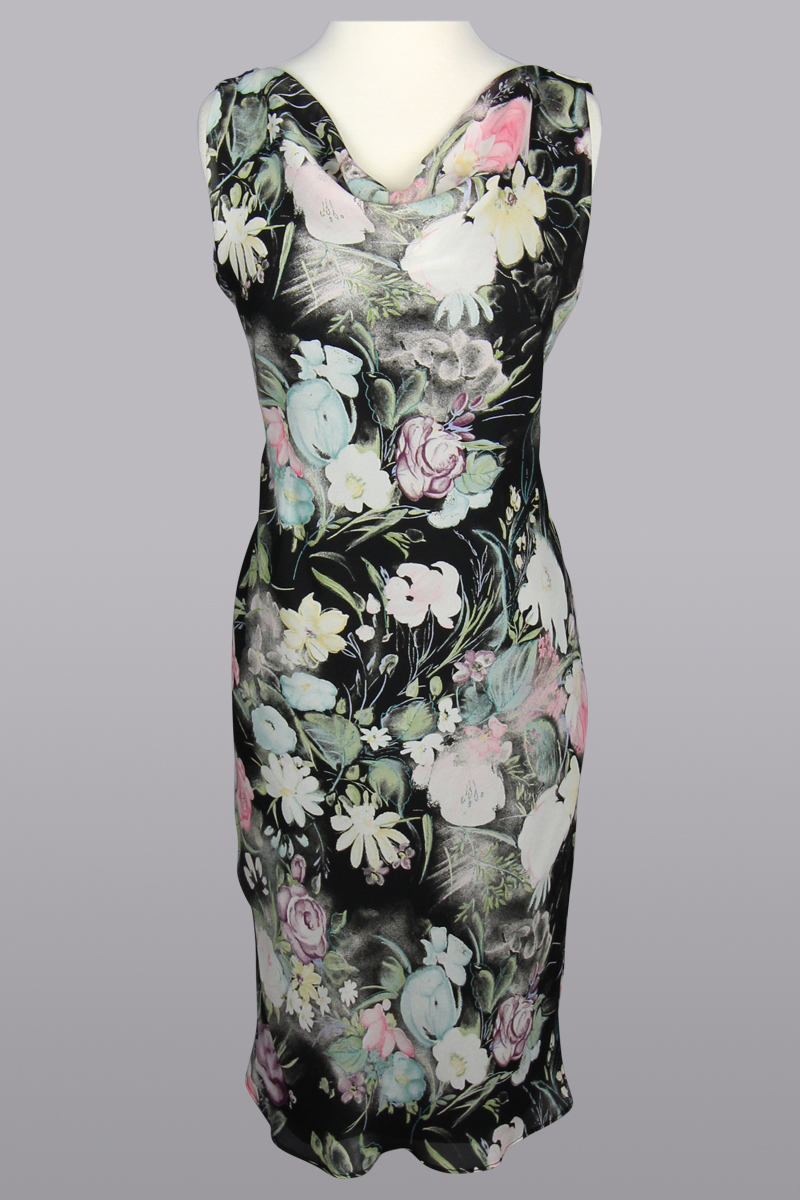 Siri Dress, 5467 Kitty Dress, Floral Sheath Dress