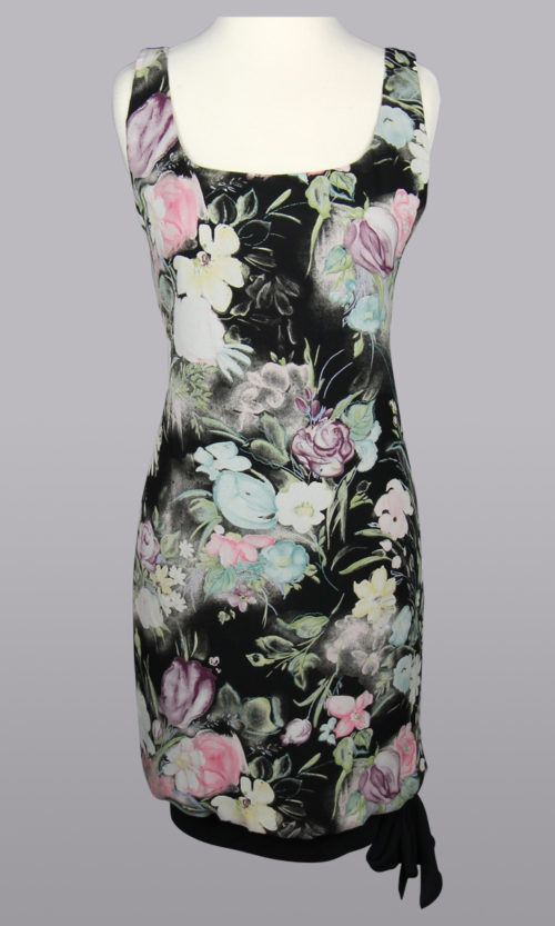 Floral Print Dress, Black Printed Dress, Dresses in San Francisco,