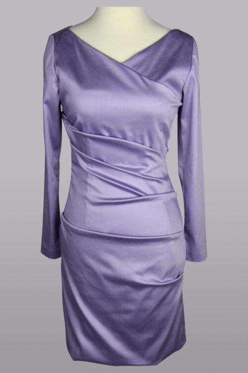 lilac stretch dress