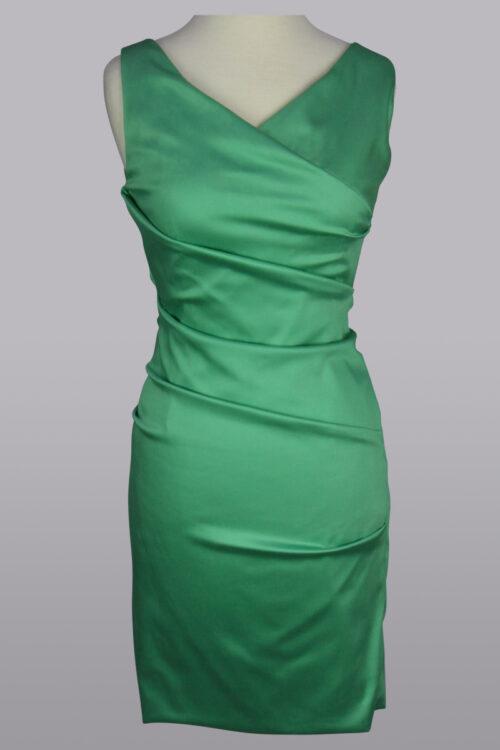 jade green dress