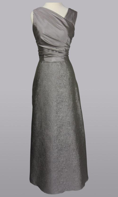 Silk Grey Gown