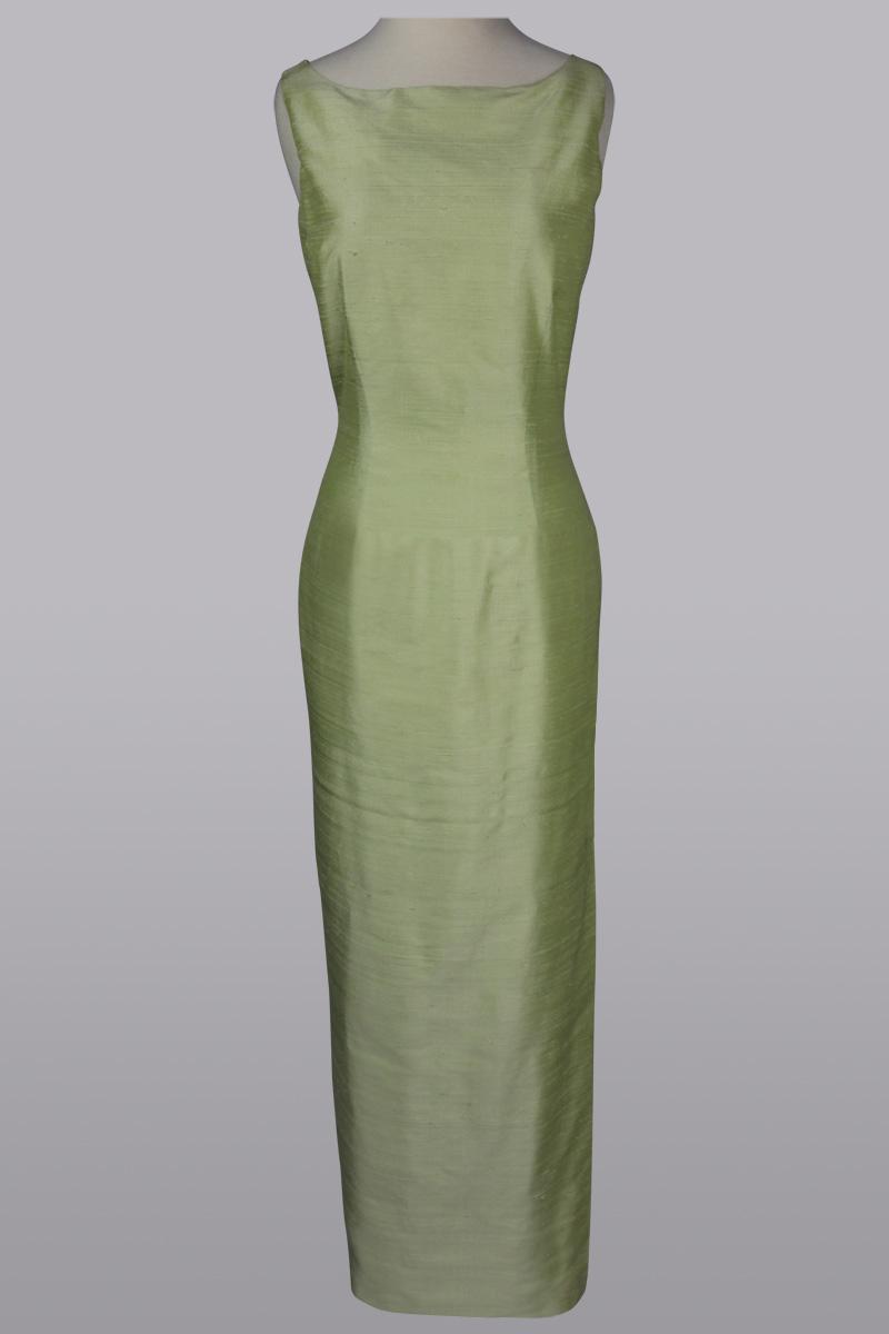 duppioni gown