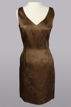 Double V Dress 9779
