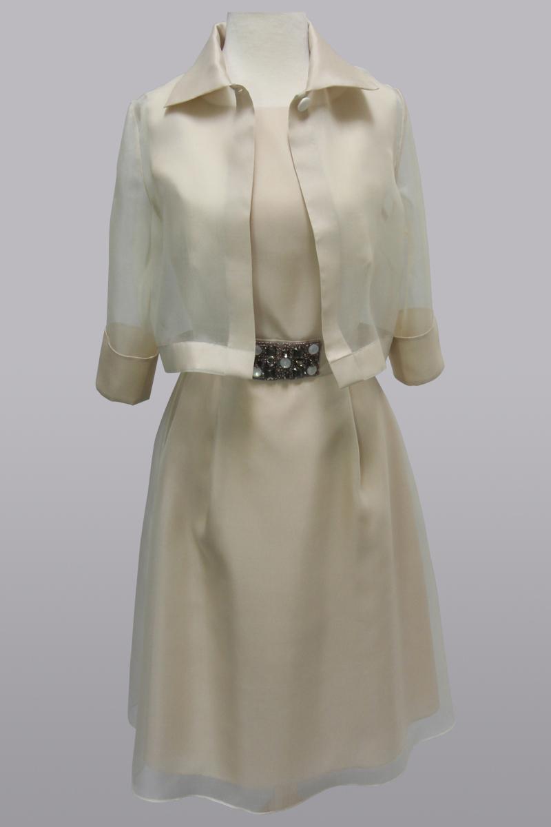 Blush dress & jacket