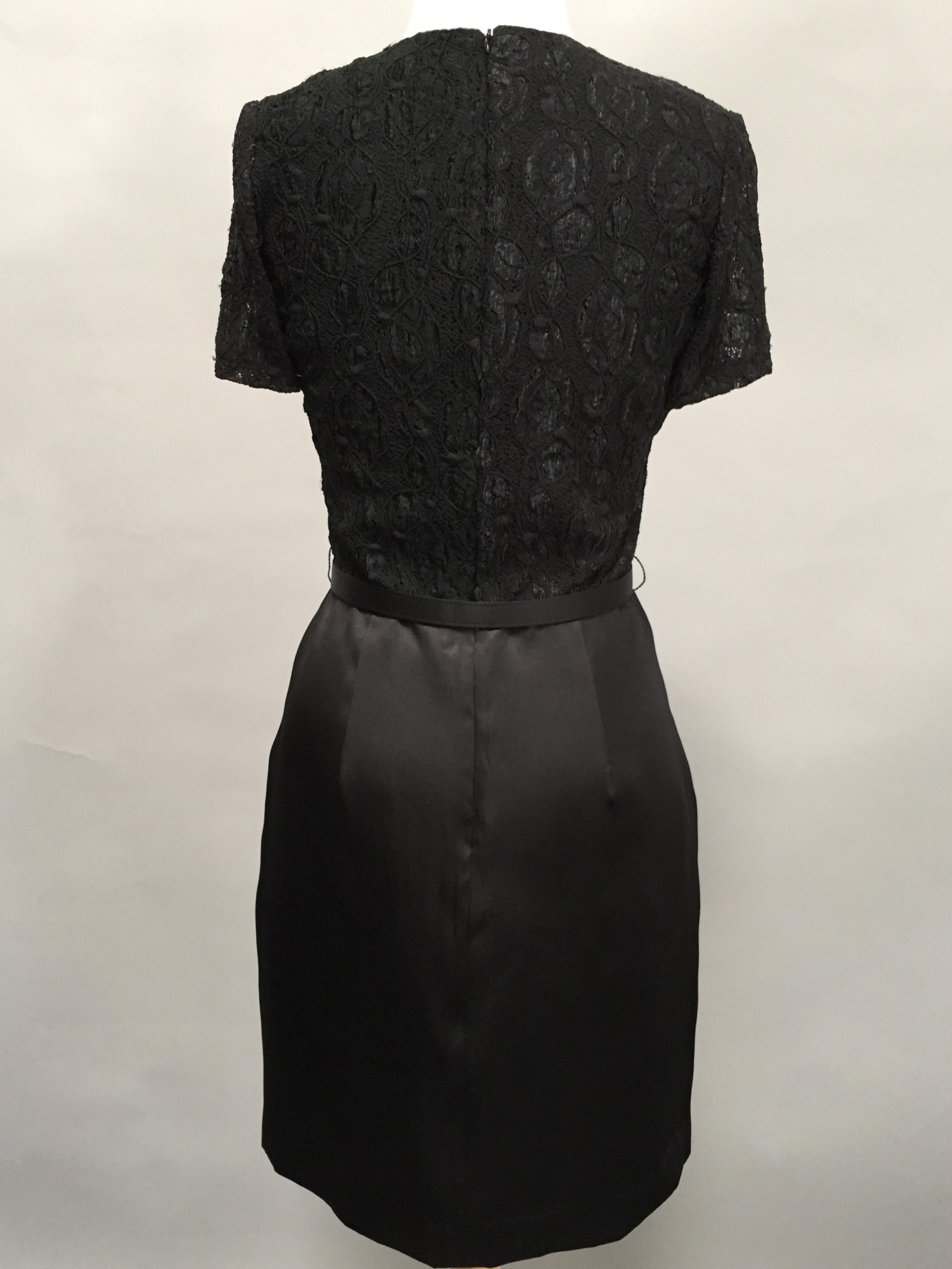 Black Dinner Dress-3642-back