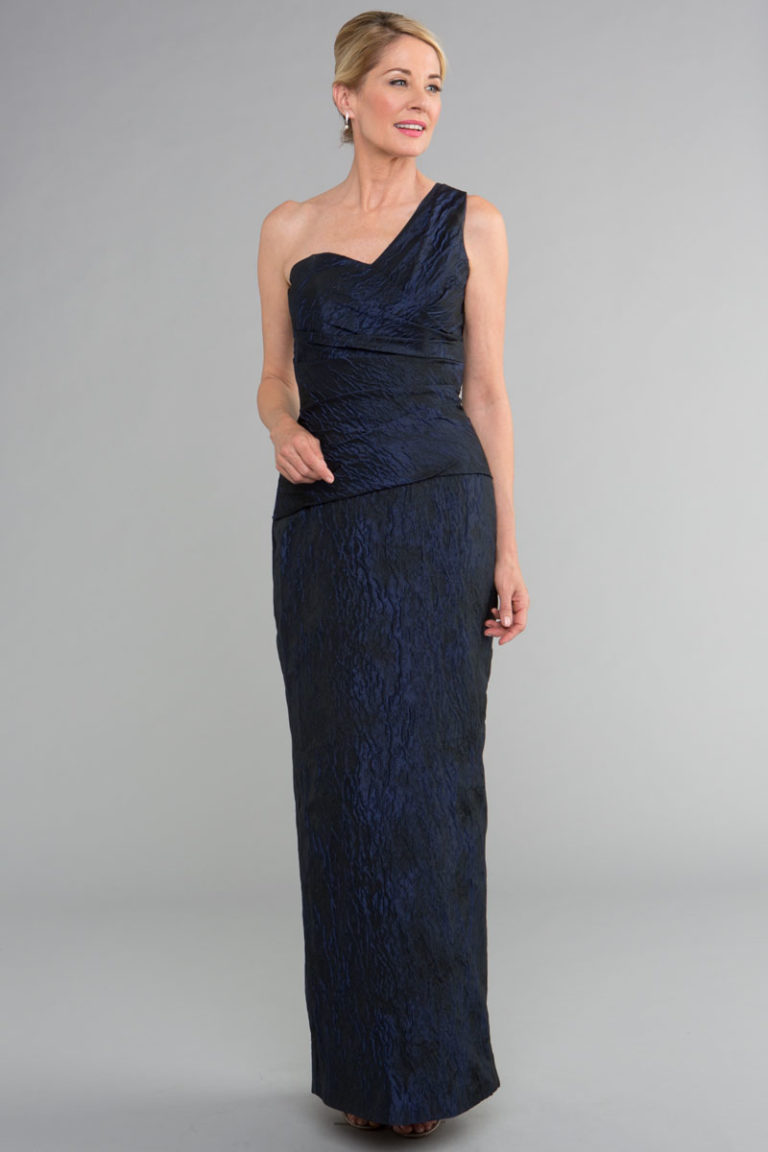 Siri Gramercy Gown 5998, Navy Gown, San Francisco