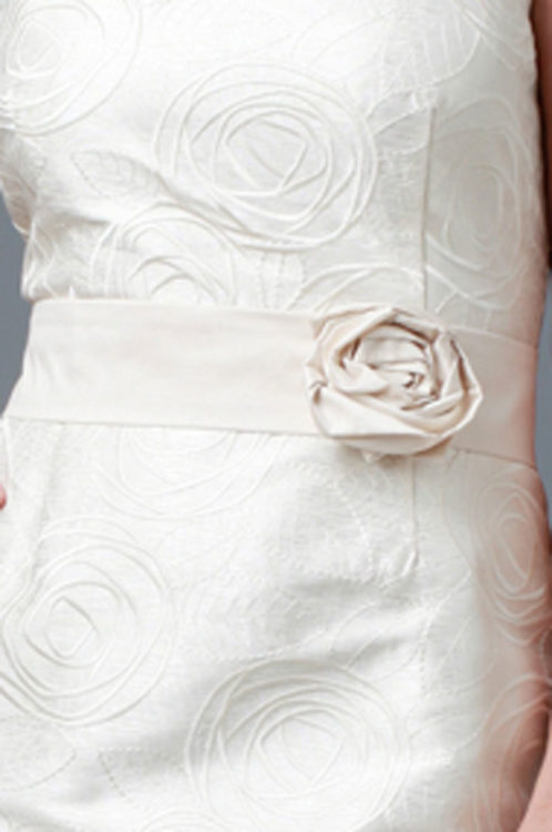 Siri Flower Belt SA23 Ivory