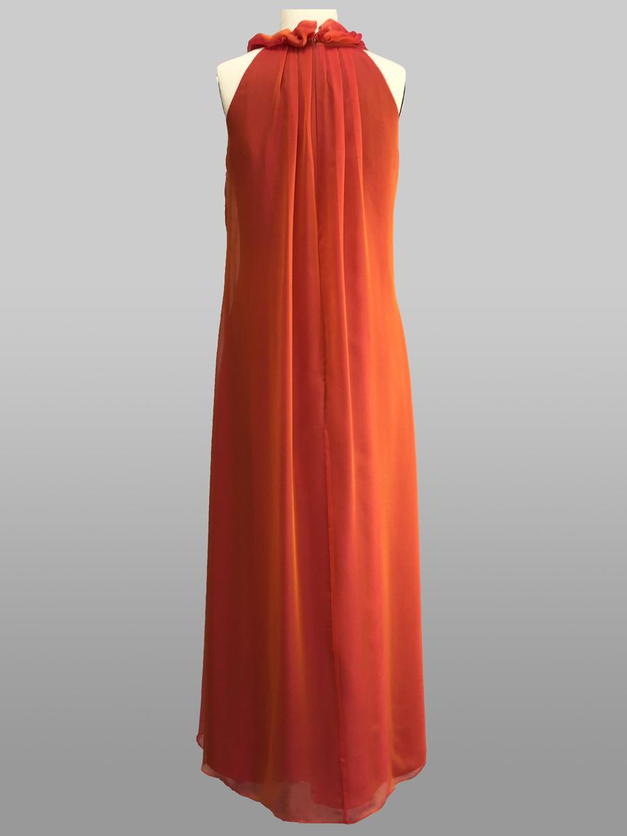 Cognac Gown