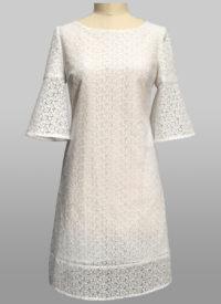White cotton dress