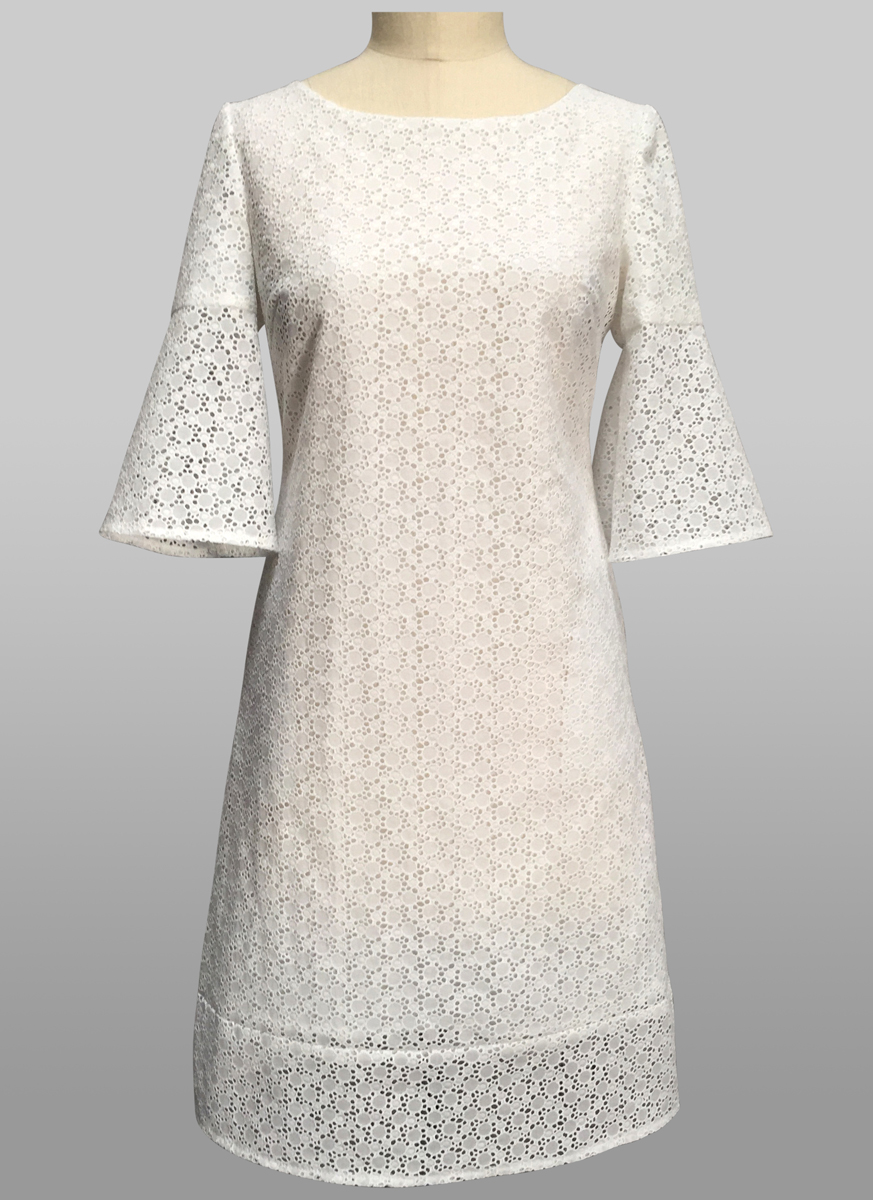 Summer Whites - Harbor Island Dress - Siri Dresses - San Francisco