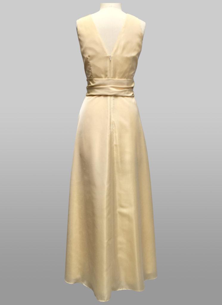 Cream gown