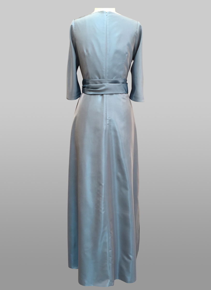 Blue Gown - back