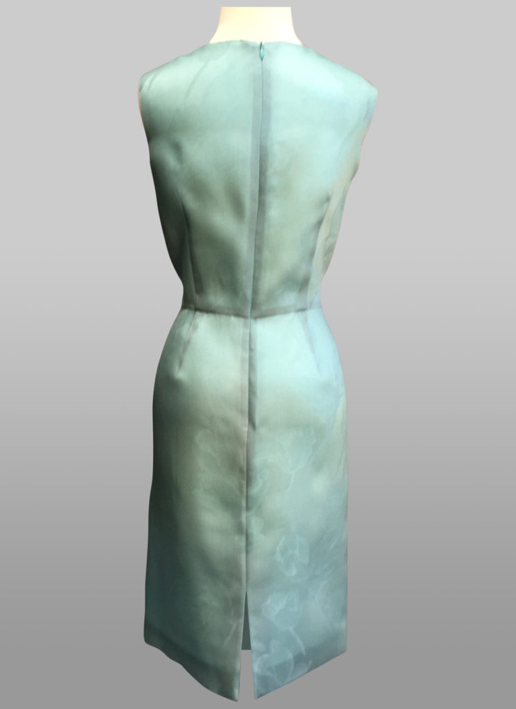 Organza dress back
