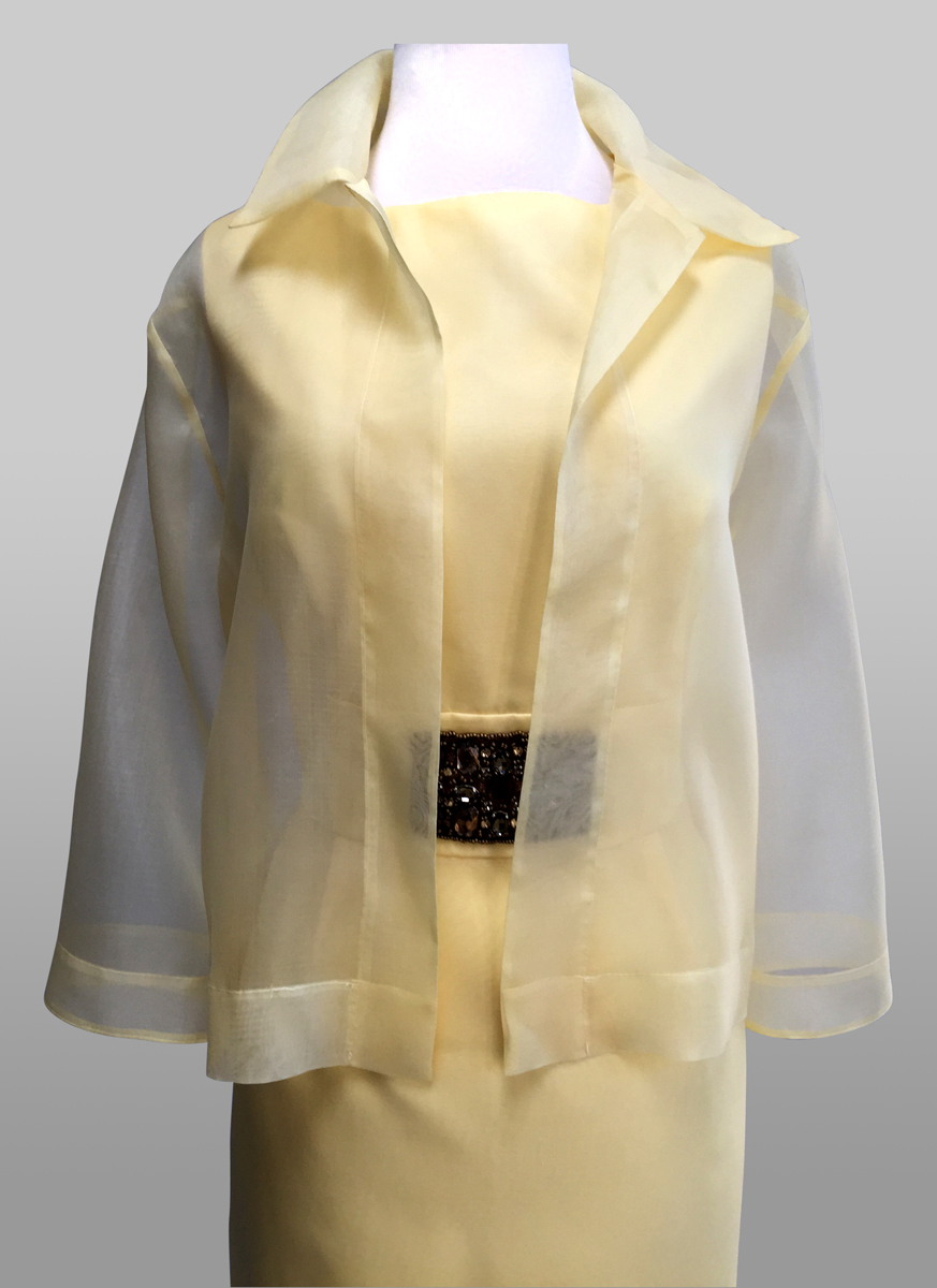 Silk sheer jacket