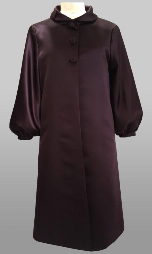 Dark purple coat