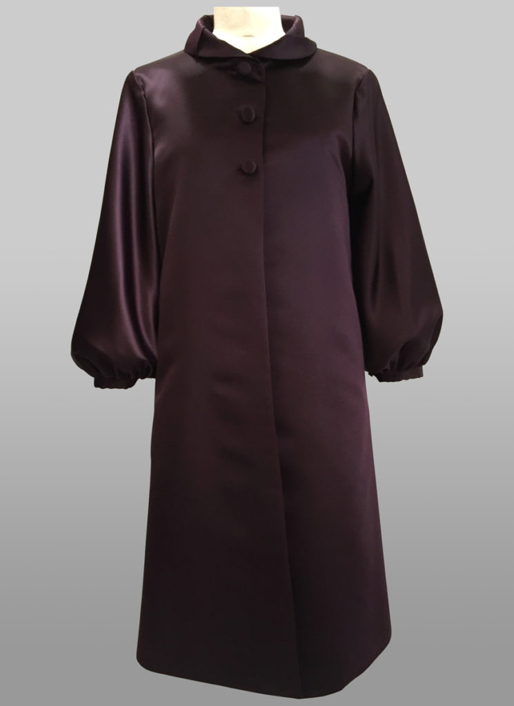 Dark purple coat