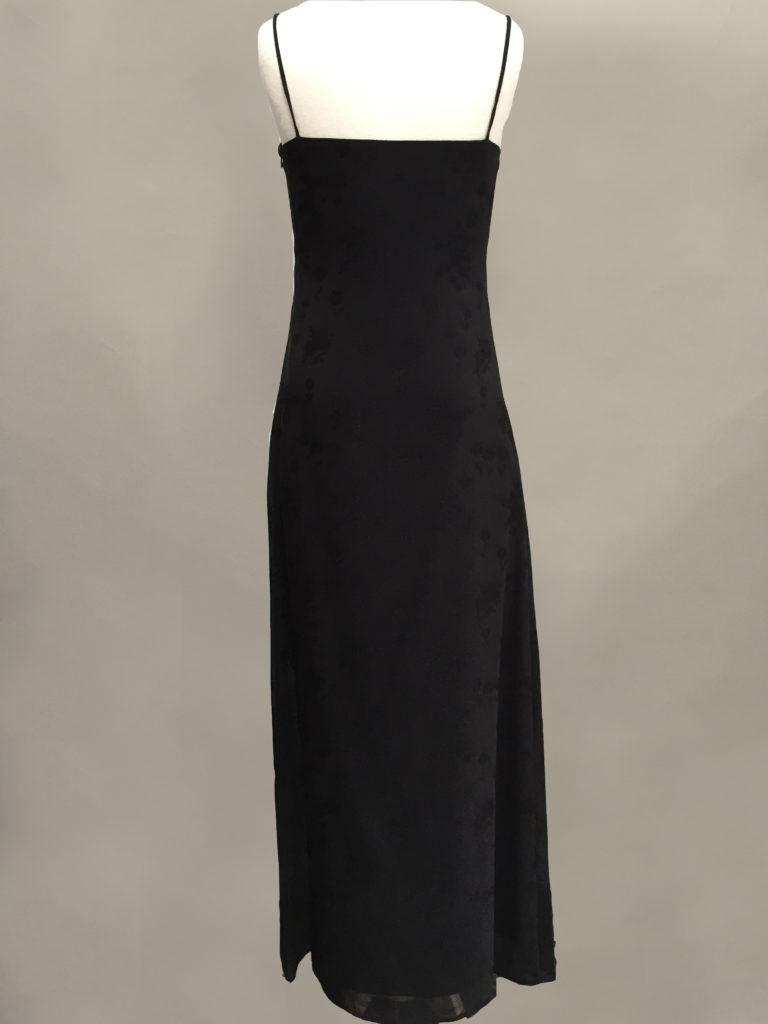 Black slip Gown Siri