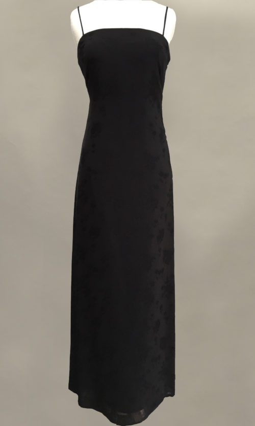 Black Slip Gown