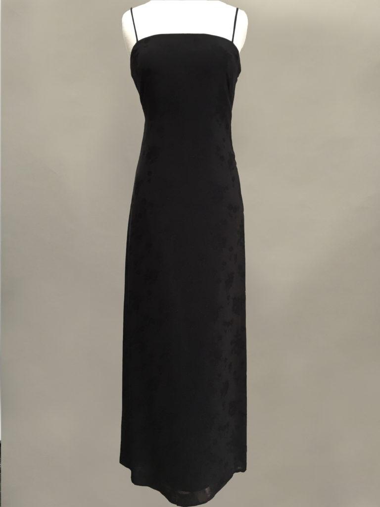 Black Slip Gown