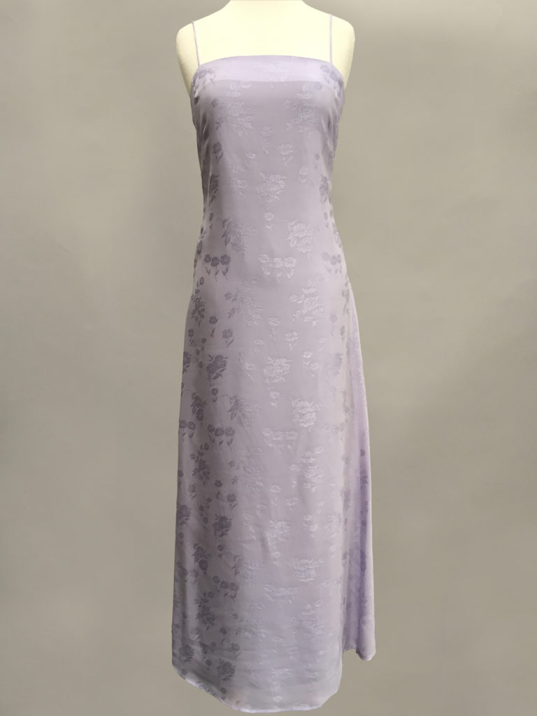 Lilac bridesmaid gown Siri
