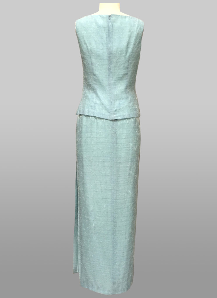 Siri Blue Top & Skirt