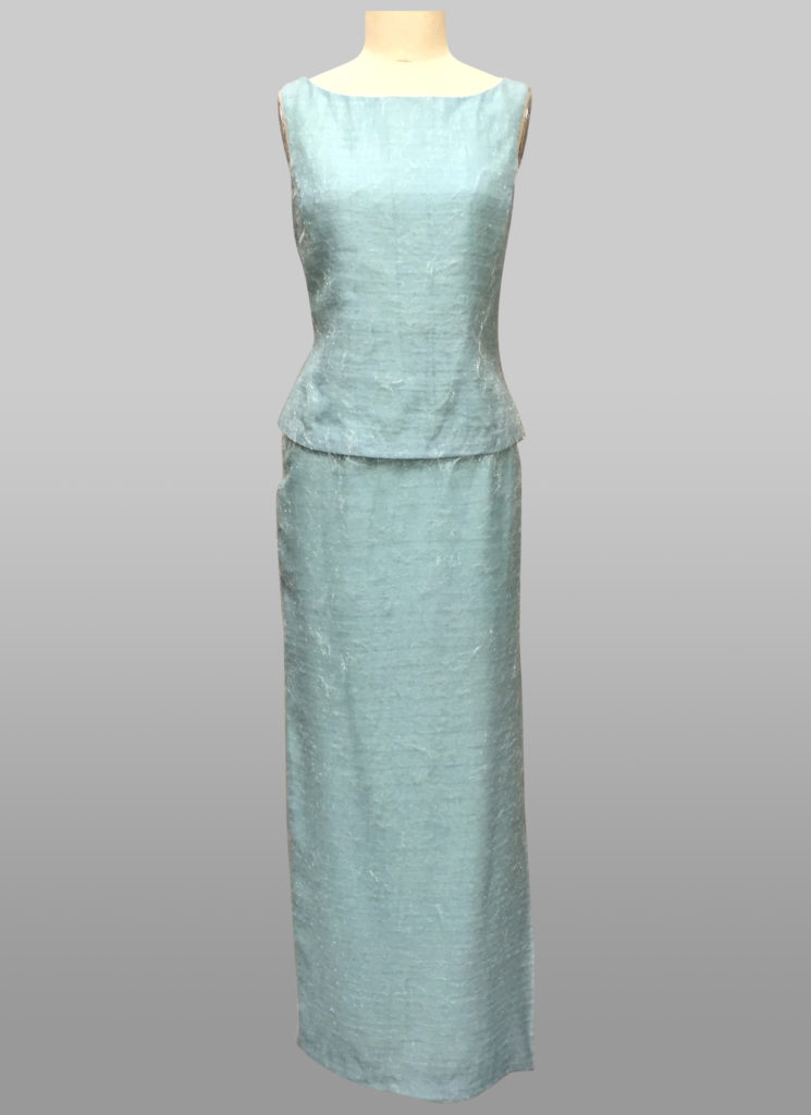 Blue top & Long Skirt Siri