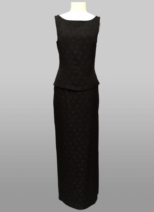 Siri top and long skirt
