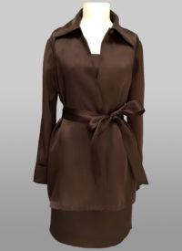 Chocolate swing jacket