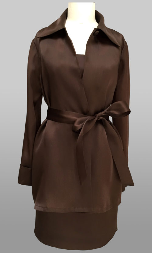 Chocolate swing jacket