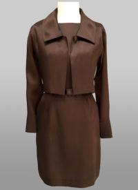 Organza jacket and dress