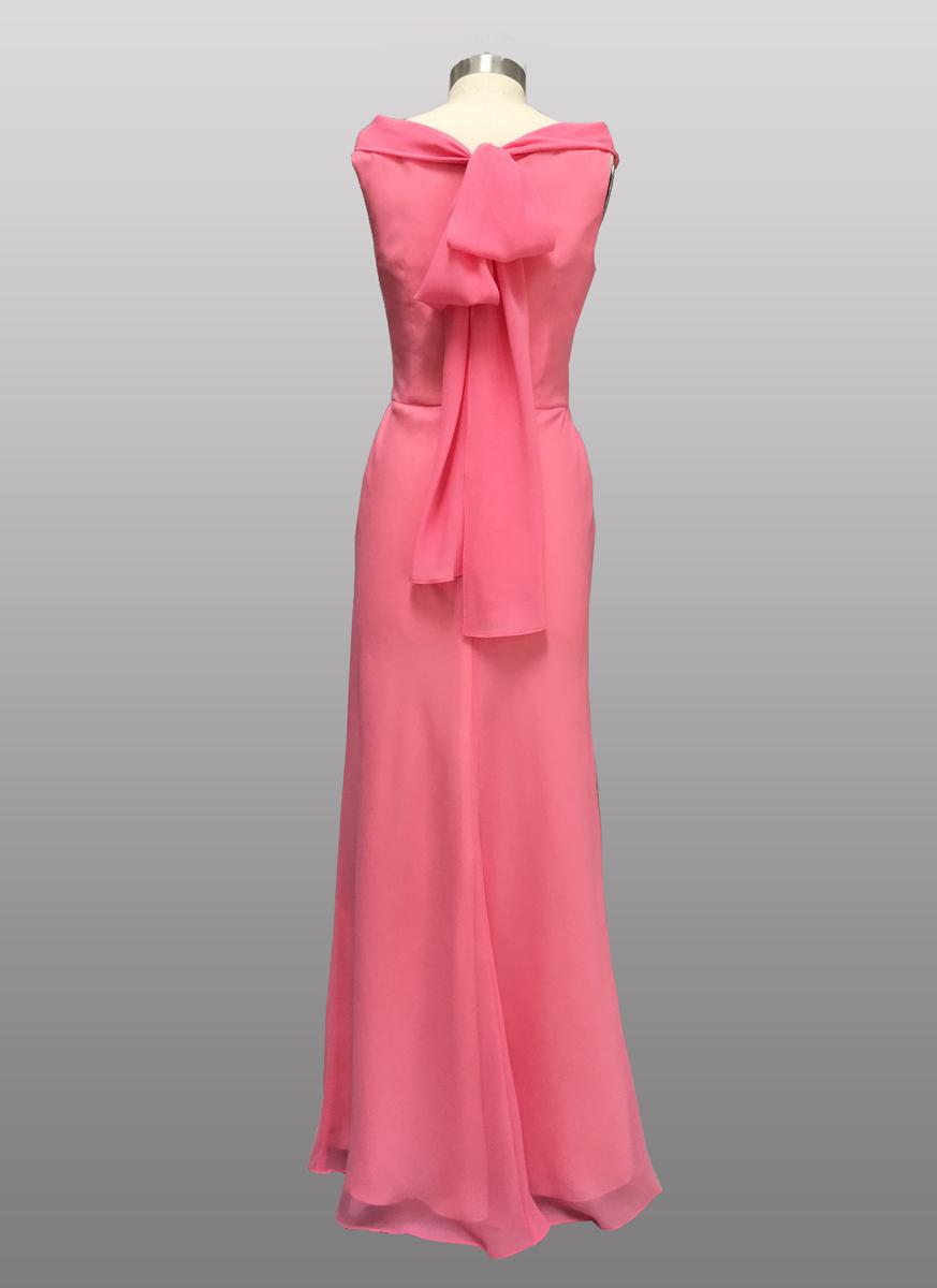 Siri chiffon gown
