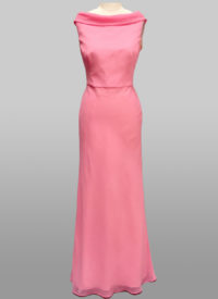 Back Bow Gown