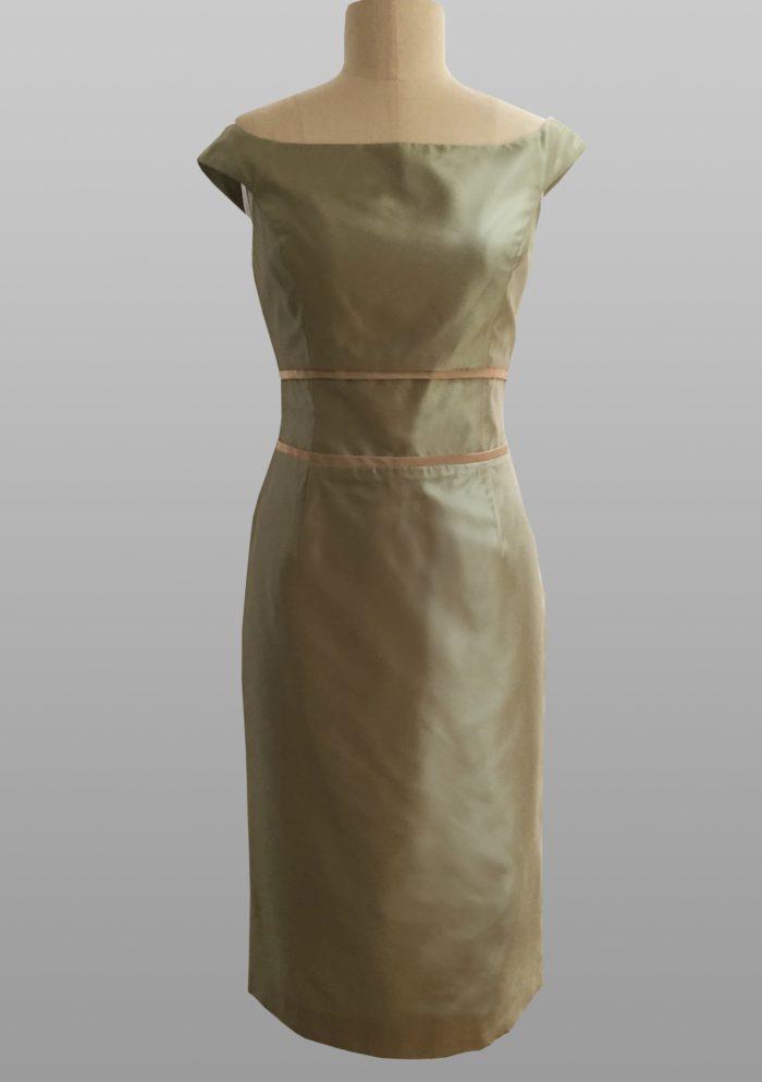 Siri Pistachio Dress