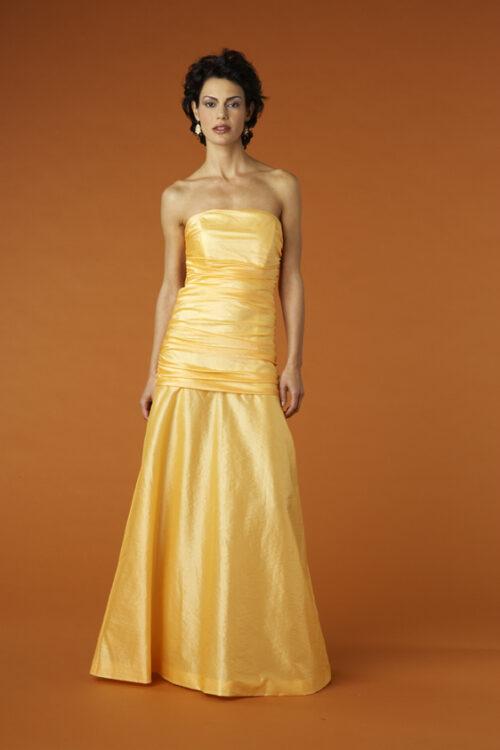 Siri Apricot Gown