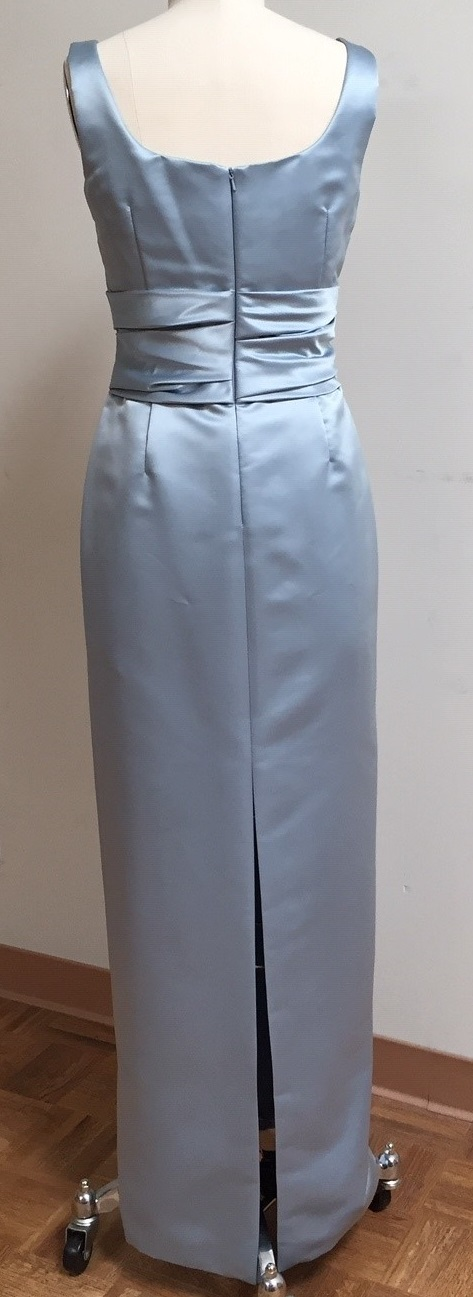 Mother of the bride blue gown