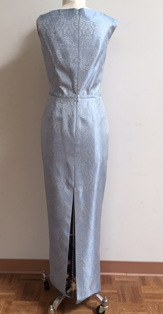 Silver Blue Gown