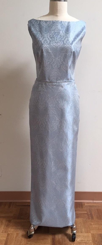 Siri Blue gown