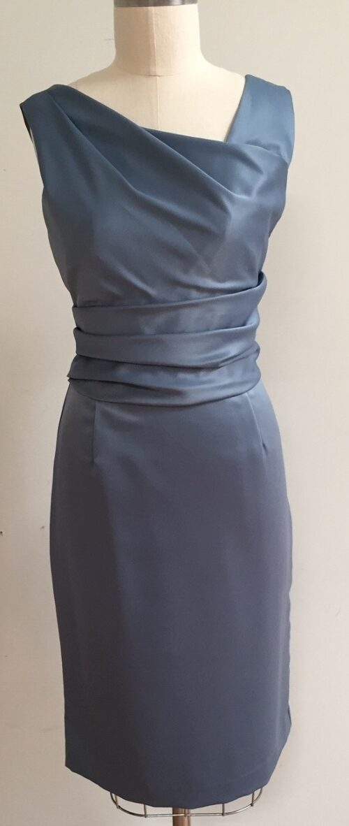 Blue dress for guest of wedding