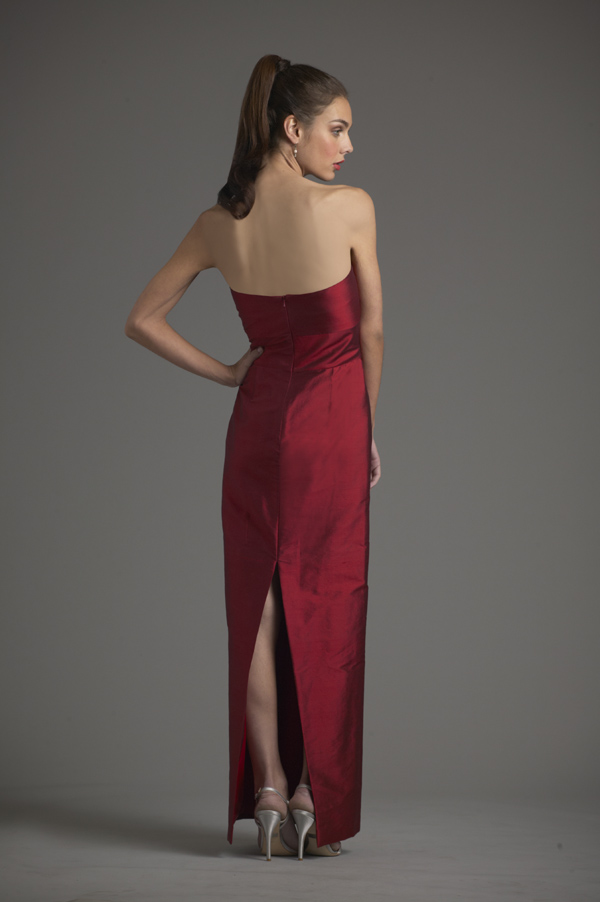 Siri Red gown