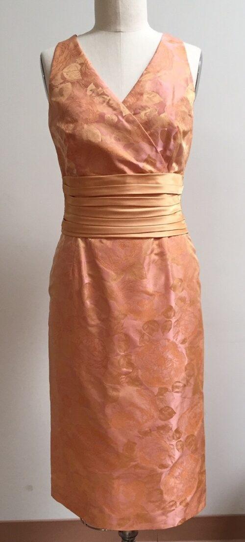 Siri Apricot Dress