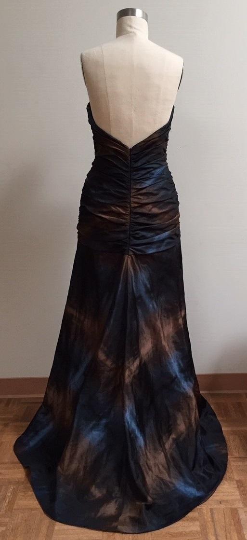 Black tie gown